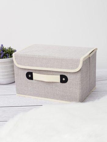 Szare pudełko do szafy