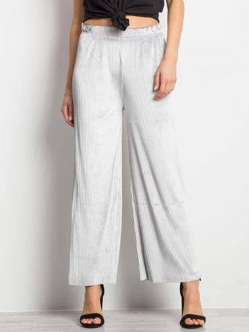 Szare spodnie Continuum