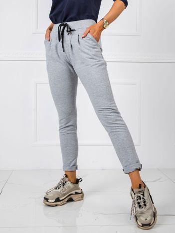 Szare spodnie Jess
