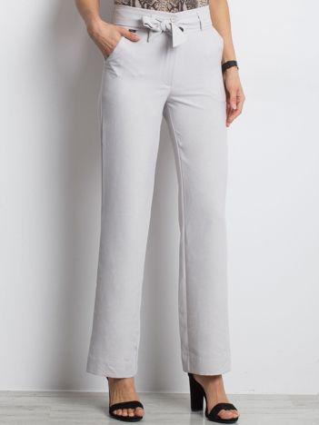Szare spodnie Metropolitan