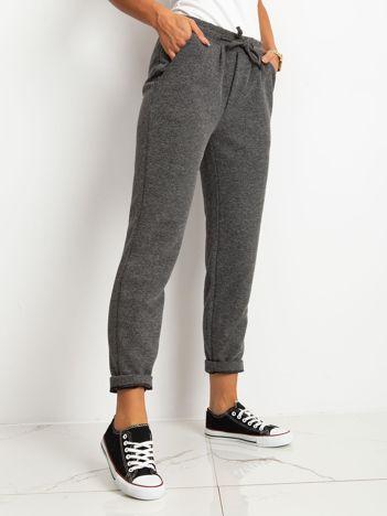 Szare spodnie Prime