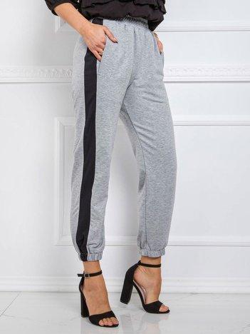 Szare spodnie Tina RUE PARIS