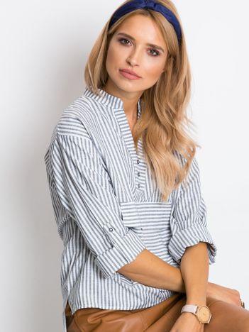 Szaro-biała bluzka Shannon