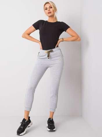 Szaro-czarne spodnie Arianna FOR FITNESS