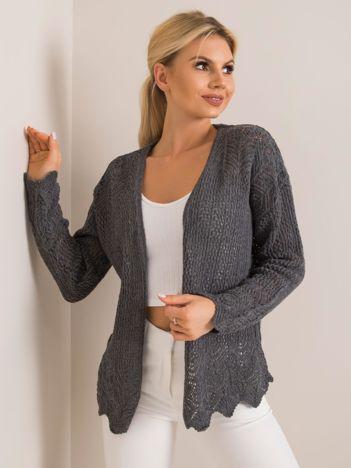 Szary sweter Francesca RUE PARIS