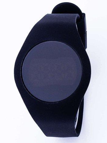 TOUCHBAND Elektryczny czarny zegarek