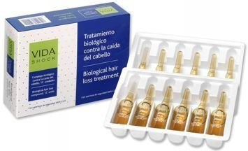 VIDA SHOCK Profesjonalne ampułki przeciw wypadaniu włosów biologiczna kuracja 12x10ml
