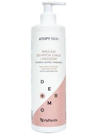 Vis Plantis Atopy Skin Emulsja do mycia ciała i włosów - skóra sucha i atopowa 400 ml