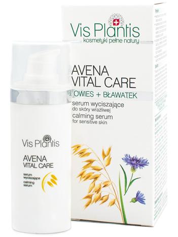 Vis Plantis Avena Vital Care Serum wyciszające do cery wrażliwej 30 ml