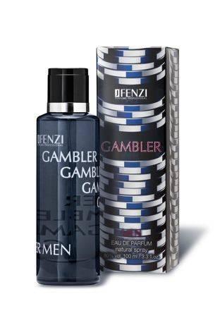 WODA PERFUMOWANA MĘSKA JFENZI GAMBLER MEN 100 ml