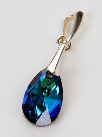 Wisiorek - kryształ Swarowskiego w srebrnej oprawie pr. 925