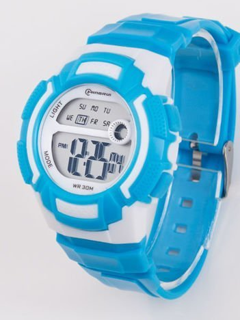 Wodoodporny damski zegarek z podświetlaną tarczą