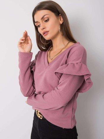 Wrzosowa bluza Scarlett RUE PARIS