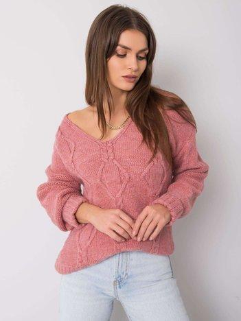 Wrzosowy sweter Kinsley RUE PARIS