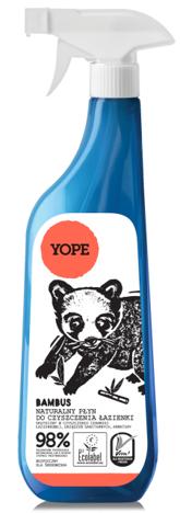YOPE Płyn do mycia łazienki Bambus 750 ml