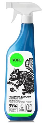 YOPE Uniwersalny płyn do czyszczenia Francuska lawenda 750 ml