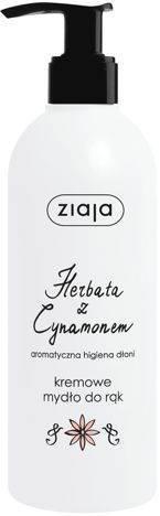 ZIAJA KREMOWE MYDŁO DO RĄK HERBATA Z CYNAMONEM 270 ml