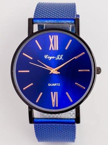 Zegarek Damski z bransoletą stylizowaną na MESH