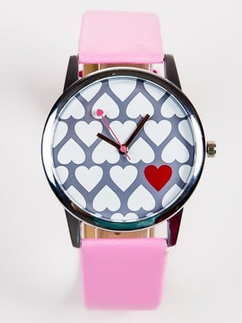Zegarek damski LOVE serca