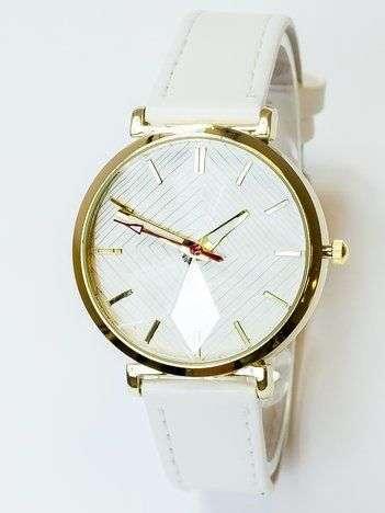 Zegarek damski ze szkłem w formie kwiatu