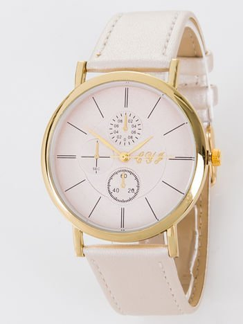Zegarek damski złoty