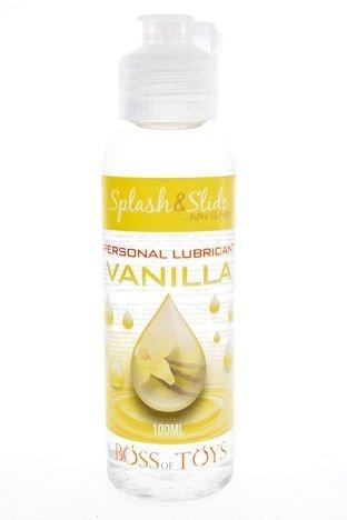 Żel VANILLA Żel intymny na bazie wody o smaku wanilii, jadalny. 100 ml.
