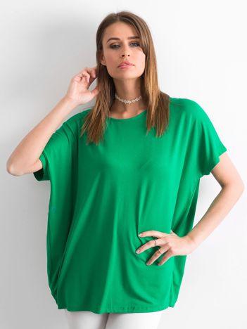 Zielona bluzka Oversize