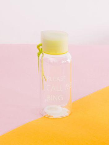 Zielona butelka na wodę