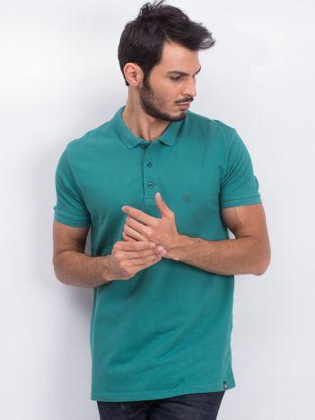 Zielona koszulka polo Coastal