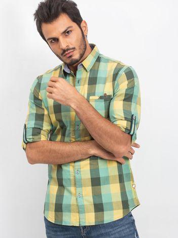 Zielona męska koszula Endless
