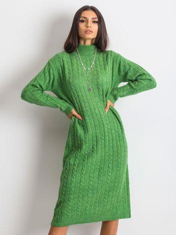 Zielona sukienka Evermore