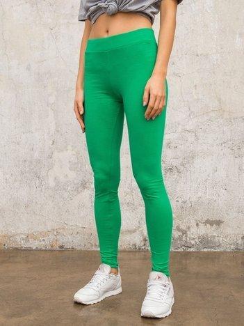 Zielone legginsy Basic