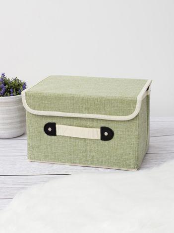 Zielone pudełko do szafy