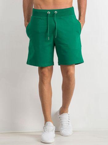 Zielone spodenki męskie Deluxe