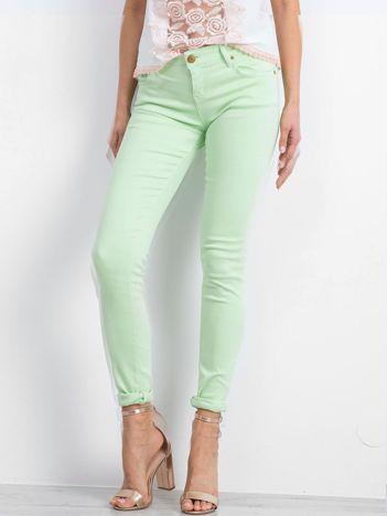 Zielone spodnie Inventive