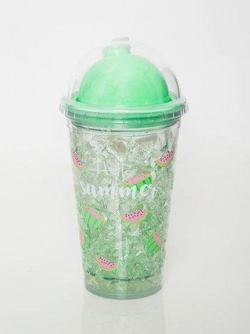 Zielony kubek do napojów