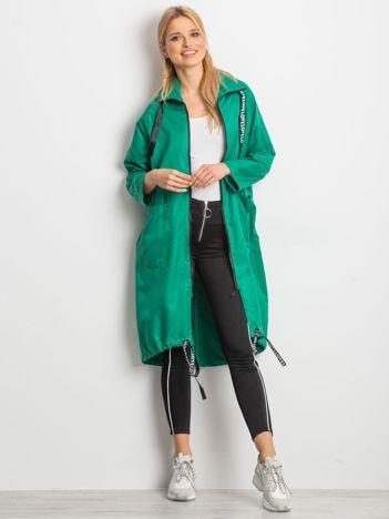 Zielony płaszcz Flatscreen