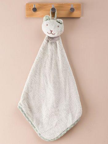 Zielony ręcznik do rąk