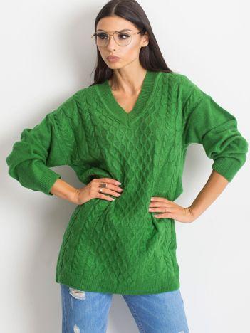 Zielony sweter Chill