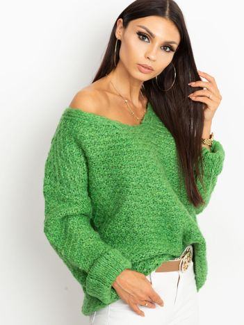 Zielony sweter Lively