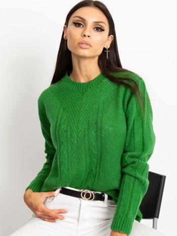Zielony sweter Marion