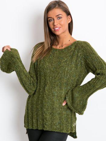 Zielony sweter Trust