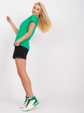 Zielony t-shirt Emory