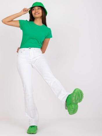 Zielony t-shirt Peachy