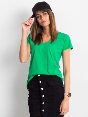Zielony t-shirt Square