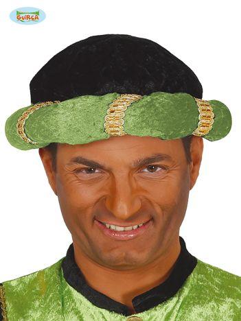 Zielony turban