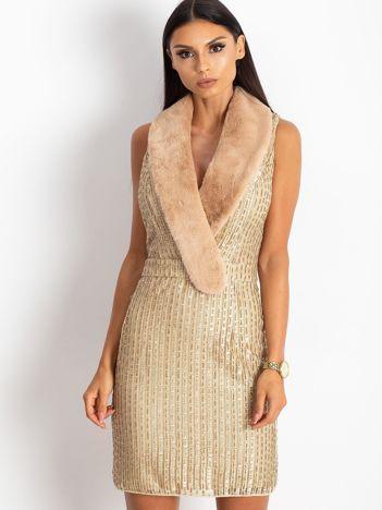 Złota sukienka Boost