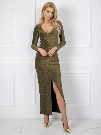 Złota sukienka Kimberly