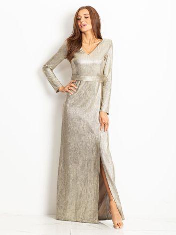 Złota sukienka Wish