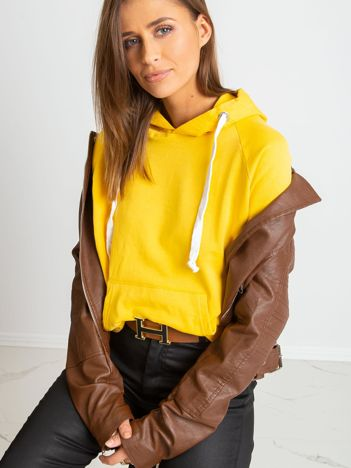 Żółta bluza Chunky